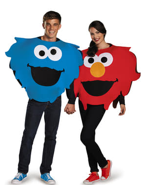 Adults Cookie Monster Sesame Street Costume