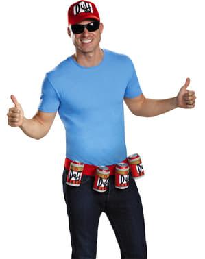 Gorra y cinturon de Duffman Los Simpson