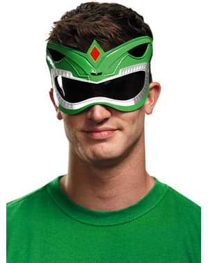 Oogmasker groene Mighty Morphin Power Ranger voor volwassenen