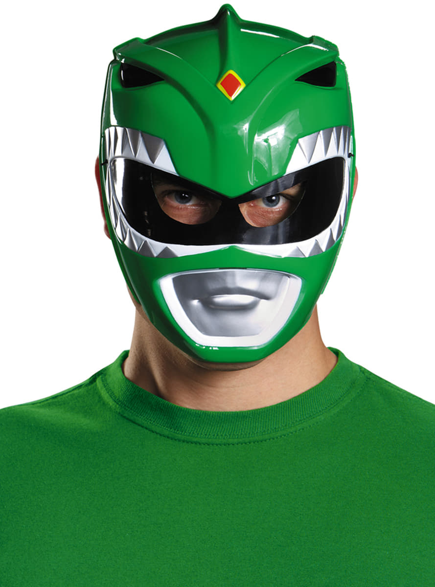 Masque power rangers might morphin vert adulte pour - Masque de power rangers ...