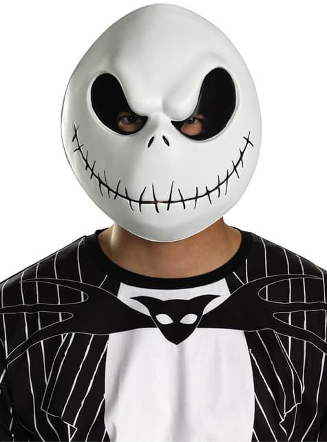 Máscara de Jack Skellington Pesadilla antes de Navidad para adulto