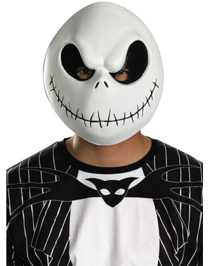 Jack Skellington Maske für Erwachsene aus Nightmare before Christmas