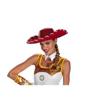 Дамска шапка и коса от лента за играчки на Джеси