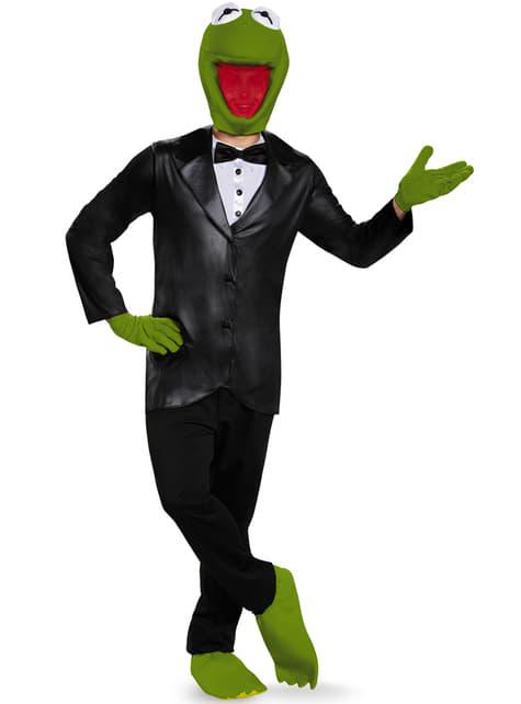Ενήλικες Kermit ο βάτραχος Η κοστούμι Deluxe Muppets