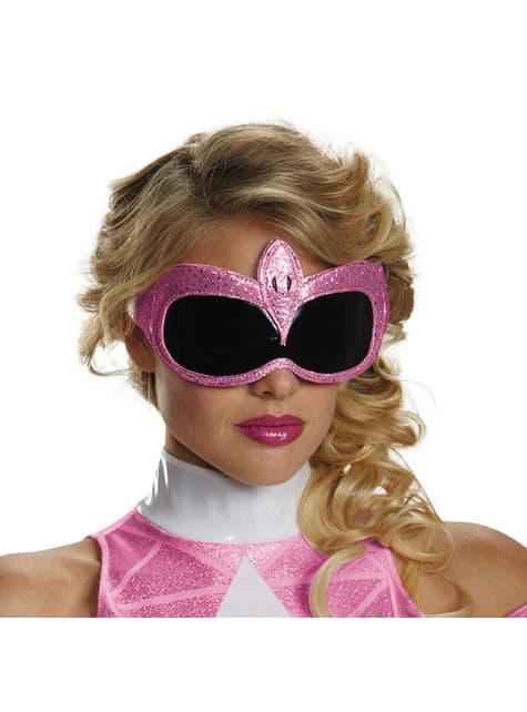 Antifaz de Power Ranger Mighty Morphin rosa para adulto