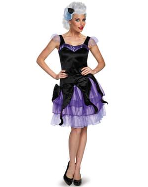 Costum Ursula Mica Sirenă deluxe pentru femeie