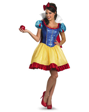 Womens Sexy Snow White Deluxe Costume
