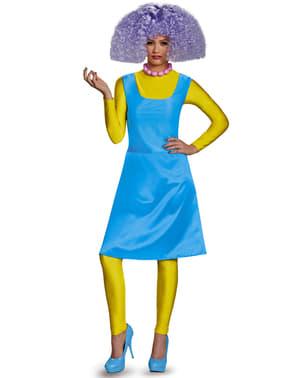 Fato de Selma d'Os Simpsons deluxe para adulto