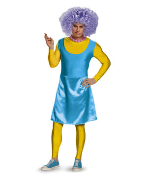 Simpsons Selma Deluxe maskeraddräkt Vuxen