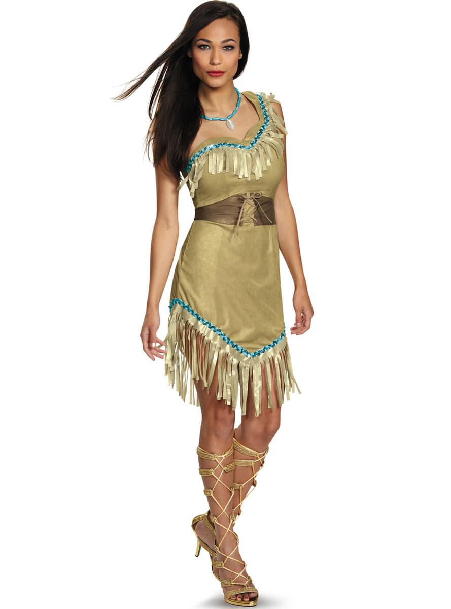 Costume pocahontas femme funidelia - Deguisement pocahontas femme ...