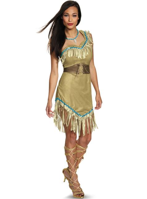 Pocahontas Kostüm für Damen