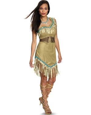 Pokahontas kostyme til dame