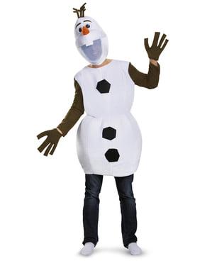 Costum Olaf Regatul de gheață 2 (Frozen) pentru adult