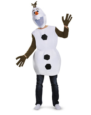 Costume Olaf Frozen 2 adulto