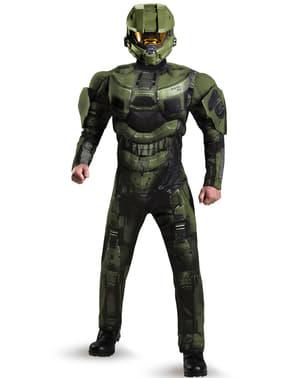 Kostým pro dospělé svalnatý Master Chief Halo