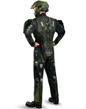 Costume Masterchief Halo muscoloso adulto