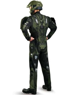 Fato de Master Chief Halo musculoso para adulto