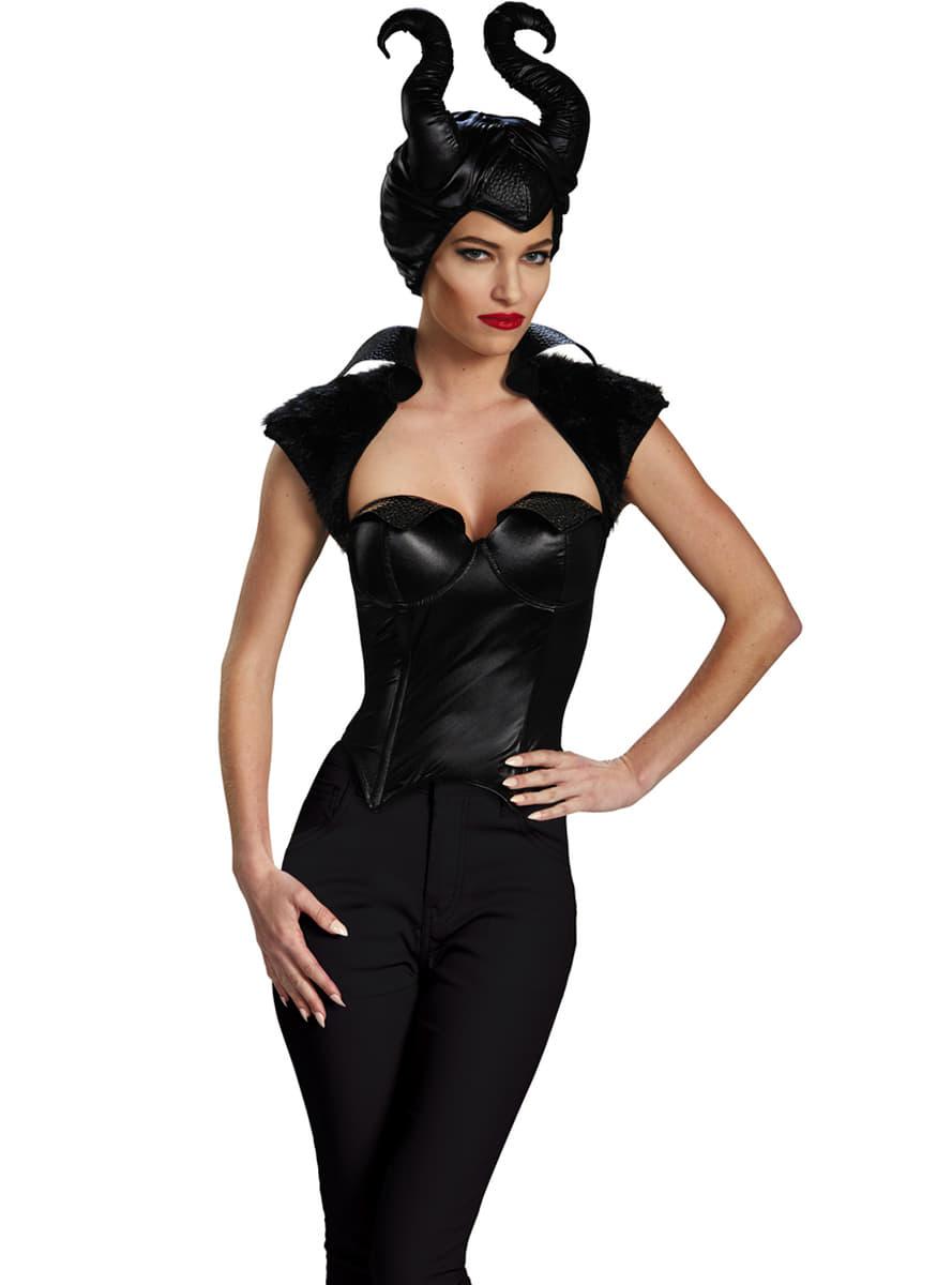 Costume Maleficent » Vestito Malefica bambine e adulti  563d0d0a913a