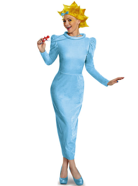 Disfraz de Maggie Simpson para mujer