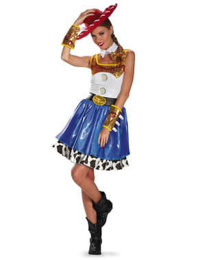 Jessie Kostüm Kleid glam für Damen aus Toy Story