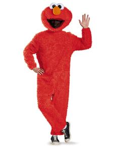 Disfraz de Elmo Barrio Sésamo deluxe para adulto