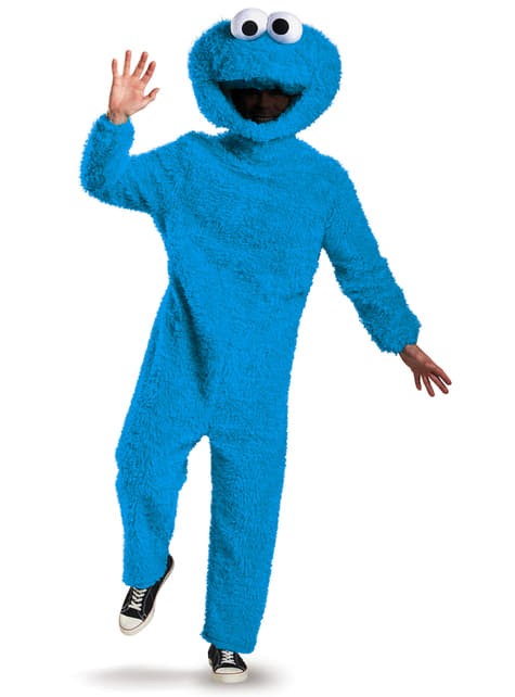 Adults Cookie Monster Sesame Street Full Body Costume