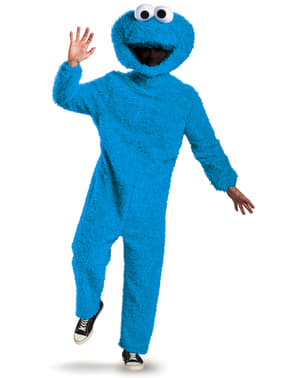 Costum Cookie Monster Strada Sesame corp complet pentru adult