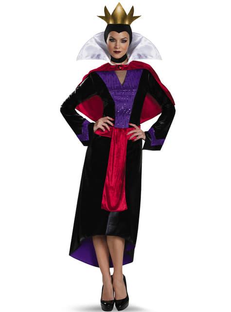 Womens Queen Grimhilde Snow White Costume