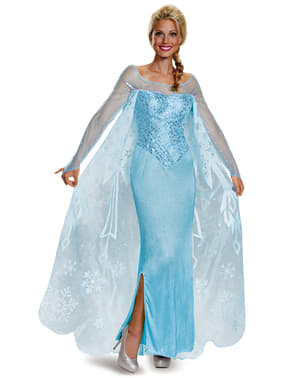 Deluxe dámsky kostým Elsa Frozen