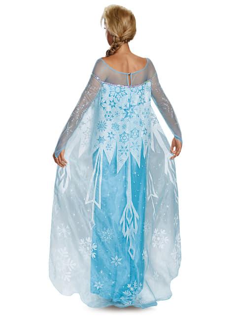 Disfraz de Elsa Frozen deluxe para mujer - mujer