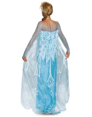 Costum Elsa Frozen (Regatul de Gheață) prestige pentru femeie