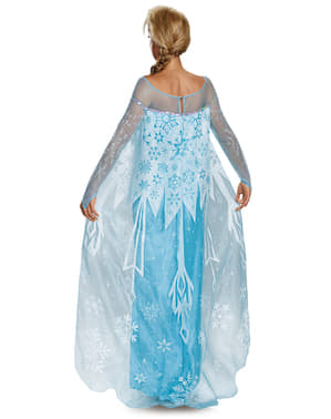Deluxe Elsa Frost Kostume til Kvinder