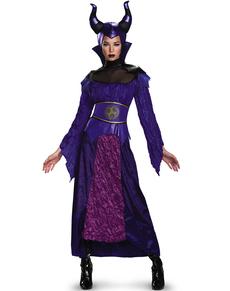 Descendants Maleficent Deluxe maskeraddräkt Dam