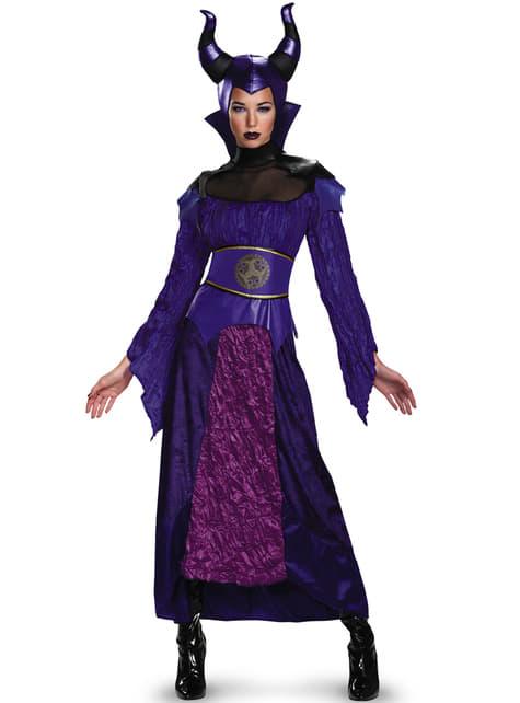 Maleficent Kostüm deluxe für Damen aus Dornröschen