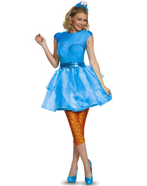 Sexy Krümelmonster Kostüm für Damen aus der Sesamstraße