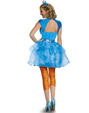 Womens Sexy Cookie Monster Sesame Street Costume