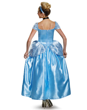 Disfraz de Cenicienta prestige para mujer