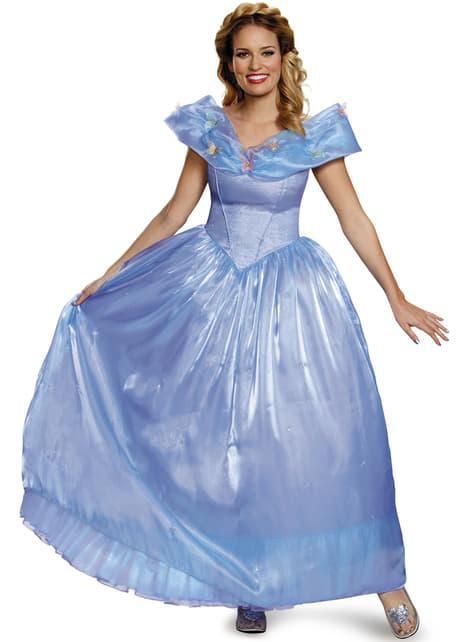 Womens Cinderella Movie Elite Costume