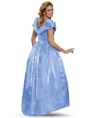 Womens Cinderella Movie Elite Costume
