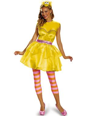 Vestido de Poupas para mulher
