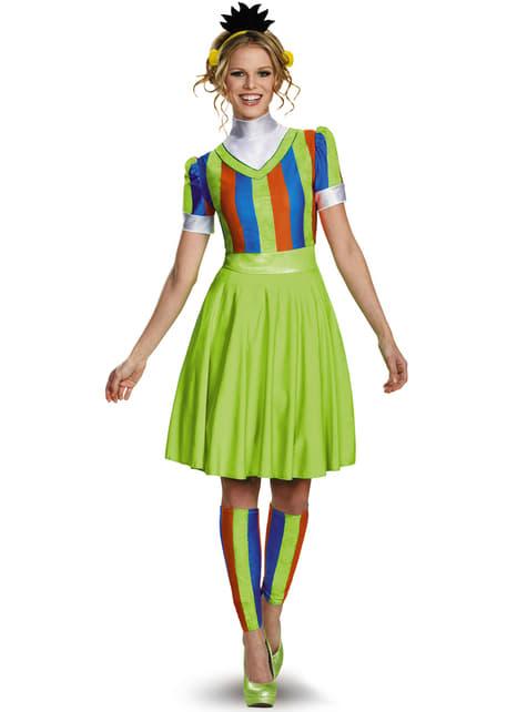 Womens Bert Sesame Street Costume Dress