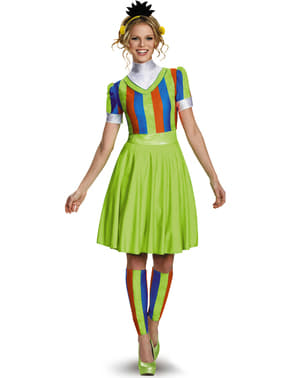 Womens Bert Sesame Street Costume Dress