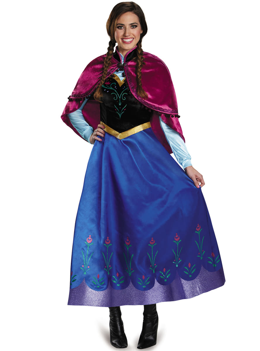 Disfraz de Anna Frozen prestige para mujer. Have Fun ...