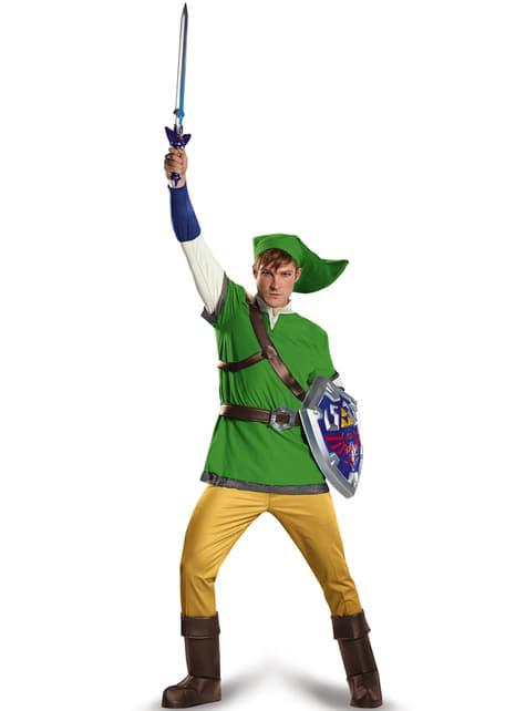 Disfraz de Link de La leyenda de Zelda deluxe para adulto - hombre
