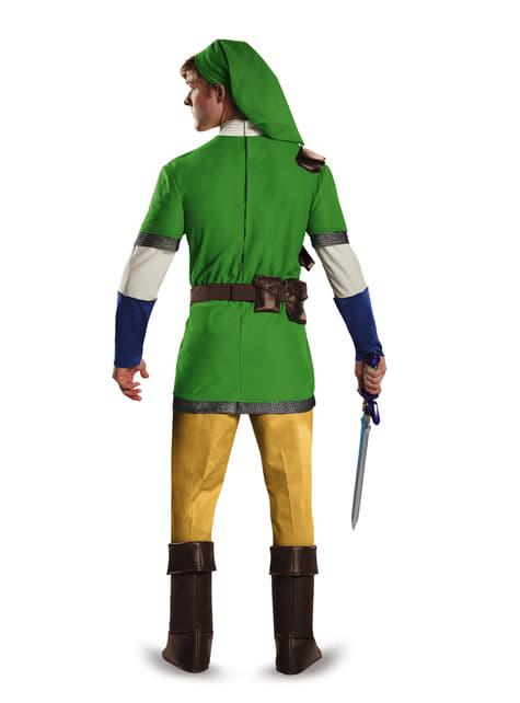 Disfraz de Link de La leyenda de Zelda deluxe para adulto - traje
