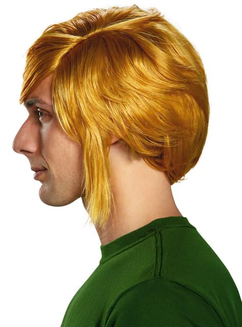 Peluca de Link de La leyenda de Zelda para adulto