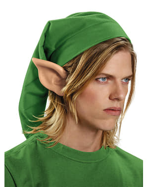 Orelhas hylianas de Link de Legend of Zelda para adulto
