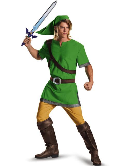 Fato de Link de Legend of Zelda para adulto