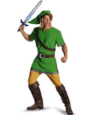 The Legend of Zelda Link Maskeraddräkt Vuxen