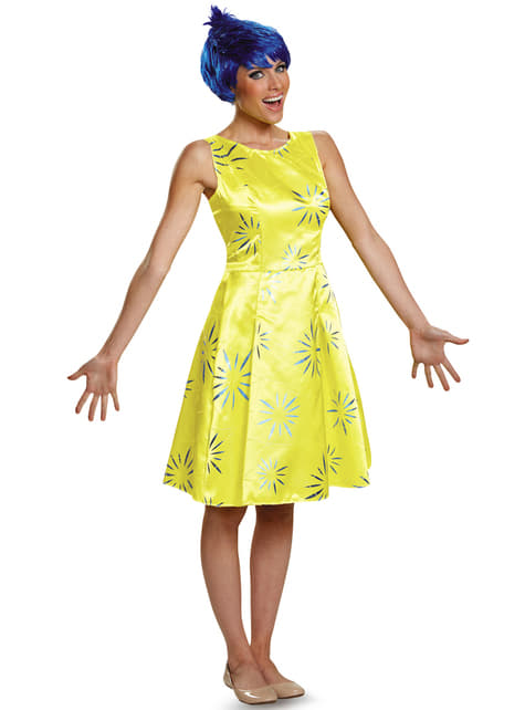 Womens Happiness Inside Out Deluxe Costume